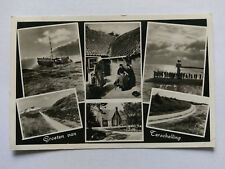 Terschelling NL Vintage B&W Postcard 1950s Multi view