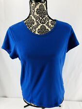 Be Inspired Women's Athletic Blue M Top