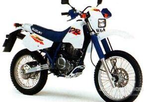 SUZUKI DR 350SE SK42B 1995-1998 FRONT & REAR STAINLESS BRAIDED BRAKE KIT GSXR