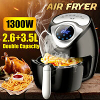 1300W Home Electric Air Fryer Smart Timer Touch Screen Airfryer Oil less US/EU