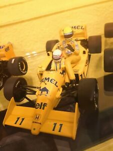 Lotus Honda 99T (Senna Riding On S.Nakajimas Car) 1:18 Italian GP 1987