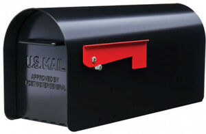 Gibraltar Mailboxes, Heavy-Duty Steel Post Mount Ironside Large CapacityMailbox