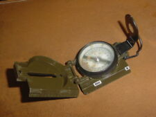 Vintage Lensatic Military Issue Compass .... Waltham Watch Co.