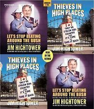 Let's Stop Beating Around the Bush/ Thieves in High Places by Jim Hightower (CD)