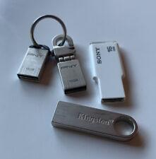4 X 16GB USB 2.0 USB Drive / Sony / PNC / Kingston