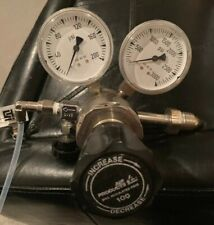 New listing Air Products E12-2150 Max Regulated 100 Psi / Max Inlet Pressure 3000 Psi+Meters