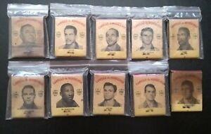 LOT (10) BOX OF MATCHES World Cup 1958 ORIGINAL Brazil Soccer Football Legends