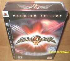 Soul Calibur IV Premium Edition (Sony PlayStation 3, 2008) PS3 New Sealed