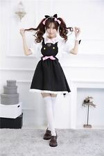 A set of Kawaii Cute Cat Maid Cosplay Lolita Costume