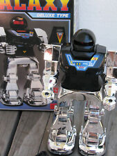 "HORIKAWA ~ Vintage 1984 B/O 9"" GALAXY Super Mechanic Fighter Robot Toy ~ JAPAN"