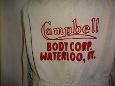 1930's 1940's Campbell Body Corp., Waterloo, NY. Jacket. Woodie Station Wagon.