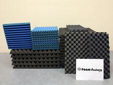 "Studio Acoustic Soundproofing 1"" Wedge Foam (REMNANT) Blue"