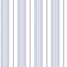 G23065 - Deauville 2 Striped Blue White Red Galerie Wallpaper