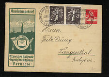 Switzerland   uprated postal letter card local use       KL0908