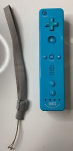 Nintendo Wii Motion Plus Controller Blue Remote (RVL-036)