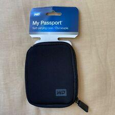 Western Digital 2.5 Inch My Passport Neoprene Case Black Smoke and Pet Free Home