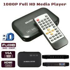 Portable Full HD Multi-Media Player Box 1080P Digital Outputs HDMI, RCA, YPbPr