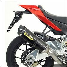SILENCIEUX ARROW CARBONE APRILIA RSV4 / FACTORY 2009/15 - 71406MI+71744MK