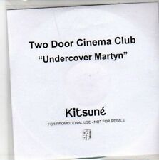 (BB378) Two Door Cinema Club, Undercover Martyn - DJ CD