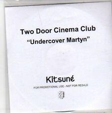 (BB378) Two Door Cinema Club, Undercover Martyn - DJ CD