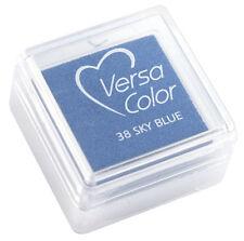 Versacolor 38 Sky Blue Himmelblau  Stempelkissen Stempelfarbe Versa Color