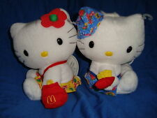 Hello kitty & Dear Daniel Plush Mcdonald's 1999 6""