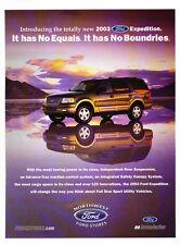 2003 Ford Expedition - no equals  - Classic Car Advertisement Print Ad J74