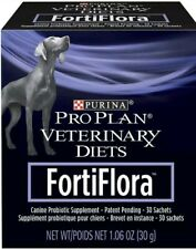 Purina Pro Plan Veterinary Fortiflora Canine Nutrition Dog Supplement 30Ct NEW
