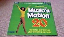 MUSIC IN MOTION SEX EXERCISE DISCO SOUL FUNK BREAKS 1st UK LP 1978 The Floaters