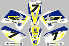 Husky Boy later model graphic/decal kit PERSONALISED FREE UK SHIPPING