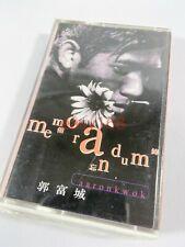 New Sealed 郭富城 AARON KWOK Memorandum 1995 Leslie Hong Kong Cassette Tape