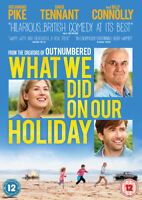 What We Did On Our Holiday DVD (2015) Rosamund Pike, Hamilton (DIR) cert 12