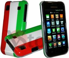 Cover Custodia Per Samsung Galaxy S i9001 Plus e i9000 Bandiera ITA Italiana