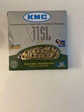 Kmc X11Sl 11 Speed Bike Chain - Gold