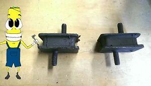 Motor Mount Kit Dodge D100 D150 D200 D250 D300 - 225 318 360 400 440 CI 1971-80