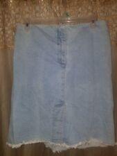 Maternity Size 6 Light Blue Denim Skirt by Liz Lange Maternity-Great Basic!