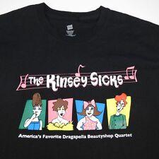 THE KINSEY SICKS DRAGAPELLA ACAPELLA DRAG QUEEN CONCERT TOUR TEE T SHIRT Sz L
