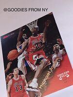 MICHAEL JORDAN 1996-97 SKYBOX/ NBA HOOPS- GOLD FOIL ACTION SSP- #20 NO COMPS!