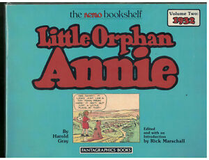 Little Orphan Annie Volume 2  1932 FantaGraphics Softcover book 1987 1st ed