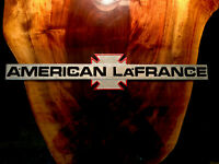 Vintage American LaFrance Fire Truck Emblem