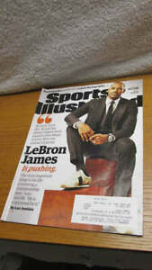 Sports Illustrated Magazine of December 7, 2015 LeBron James Cover & Article