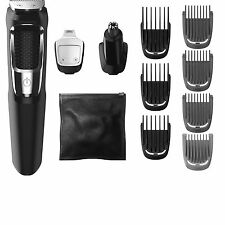 Philips Norelco Grooming Kit Rechargeable Hair Ear Beard Trimmer Mens Shaver Set