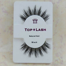 Black Luxurious 100% Real Mink Natural Thick Eye Lashes False Eyelashes D-6 Gift