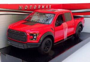 Motormax 1/27 Scale 79344 - 2019 Ford F-150 Raptor Pick Up - Red