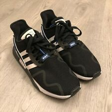 Adidas EQT Equipment ADV 91-17 Mens Running Sneakers Black/Blue/White Size 11 US