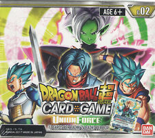 Dragon Ball Super Card Game Booster Box - Union Force - B02