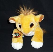 "12"" Mattel Authentic Floppy SIMBA BABY CUB Plush Stuffed The Lion King 1993"