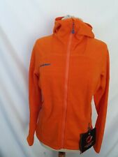 Mammut Damen Eiswand Guide Ml Hoody Jacke Fleecejacke Orange Gr.M Neu & Etikett