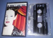 ANNIE LENNOX NO MORE I LOVE YOU'S cassette tape single