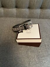 New listing Coach Dog Collar Large/ Pre-Owned *Never Worn*